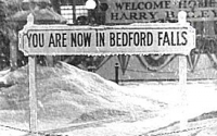 Is there a 'real' Bedford Falls out there somewhere?